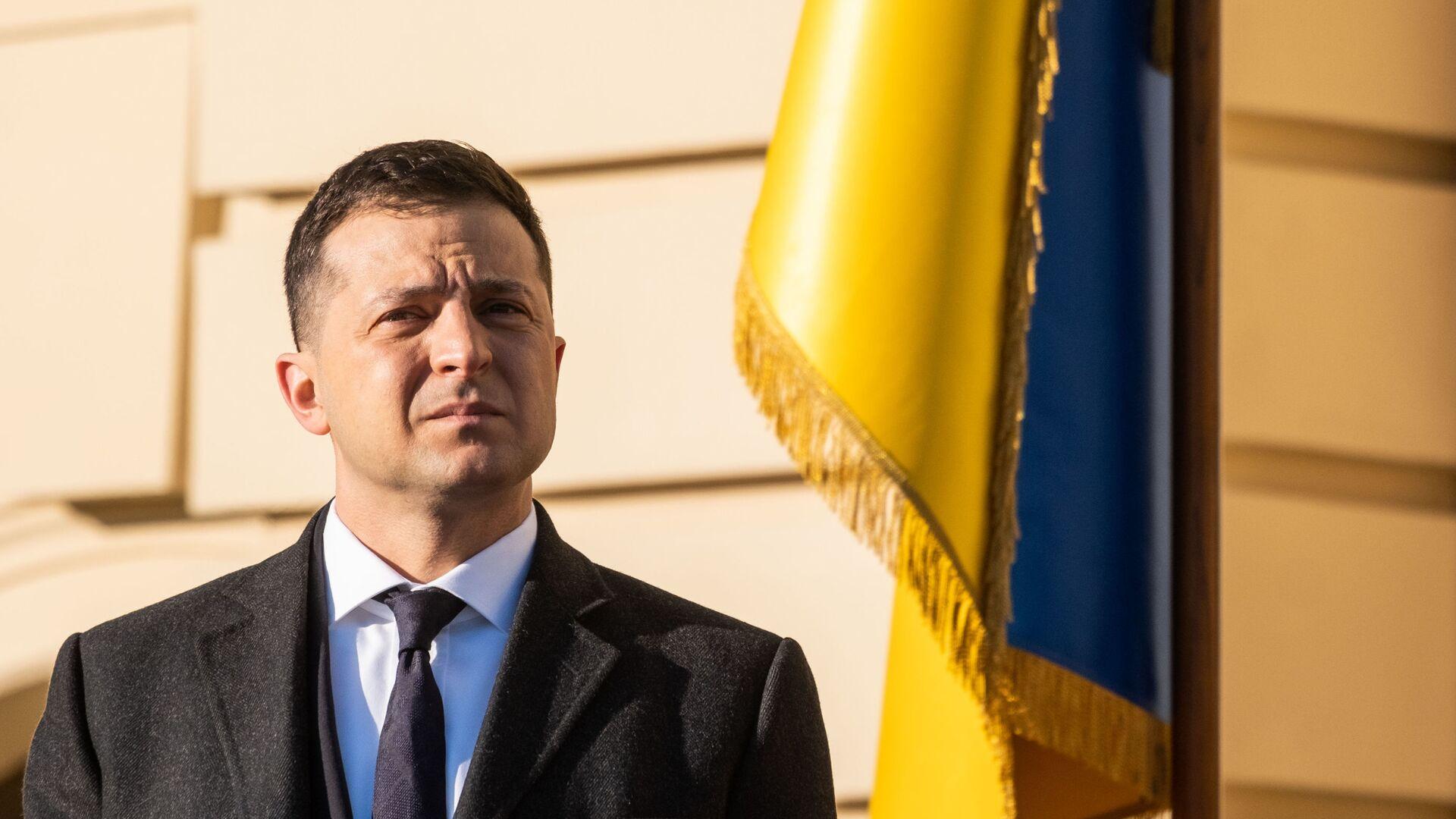 Predsednik Ukrajine Vladimir Zelenski - Sputnik Srbija, 1920, 22.09.2021