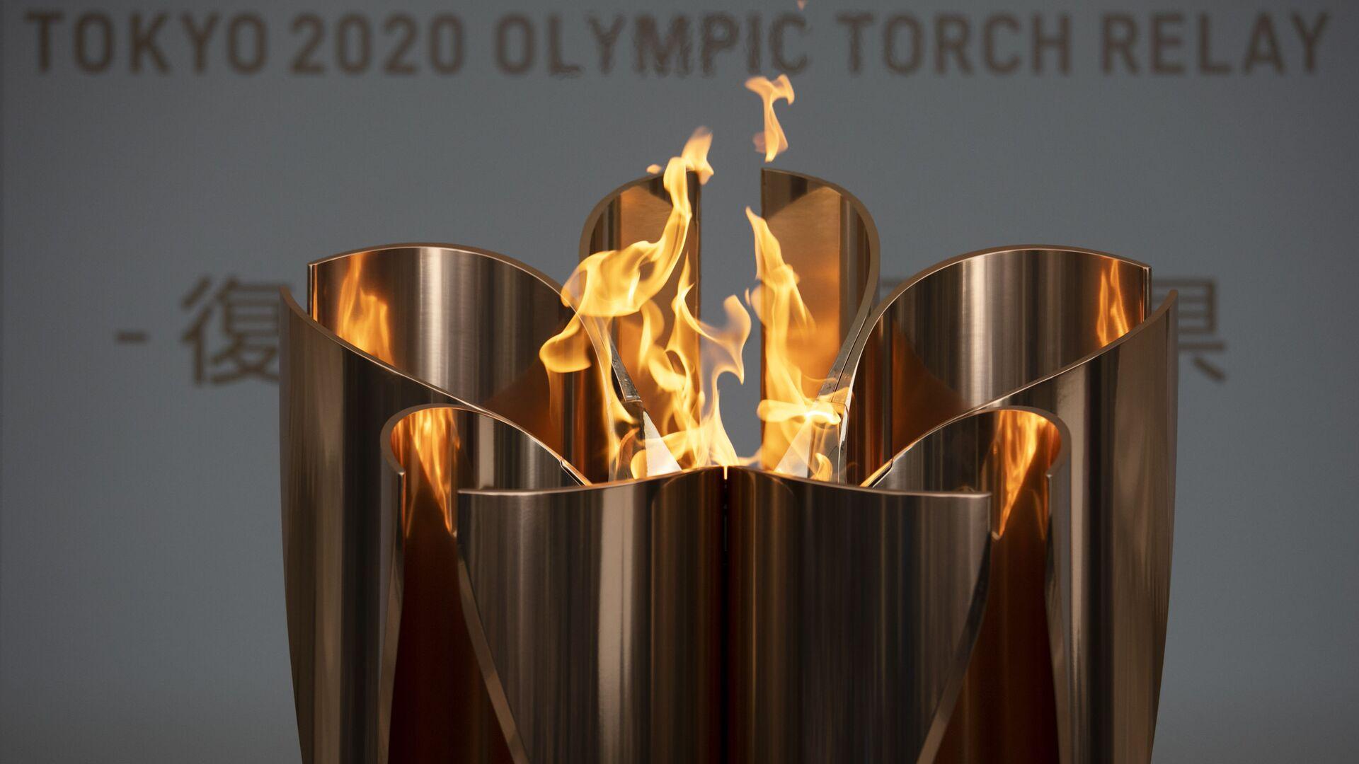Olimpijski plamen Tokio 2020. - Sputnik Srbija, 1920, 06.04.2021