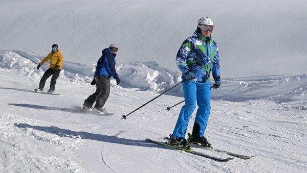 Почетак ски-сезоне у Сочију - Sputnik Србија