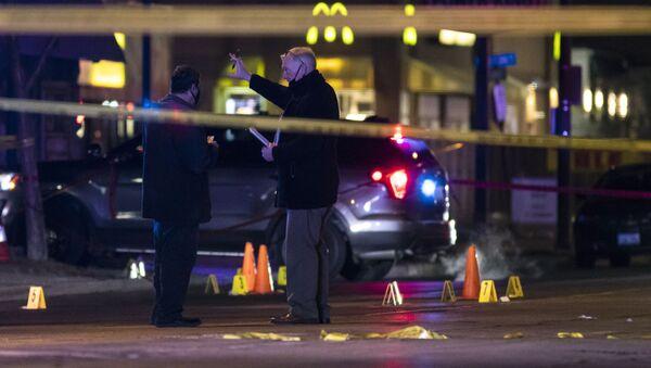 Policija Čikaga obavlja uviđaj posle serije ubistava - Sputnik Srbija