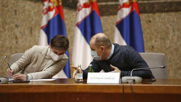 Sednica kriznog štaba - Sputnik Srbija