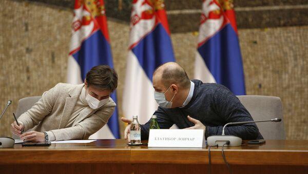 Седница кризног штаба - Sputnik Србија
