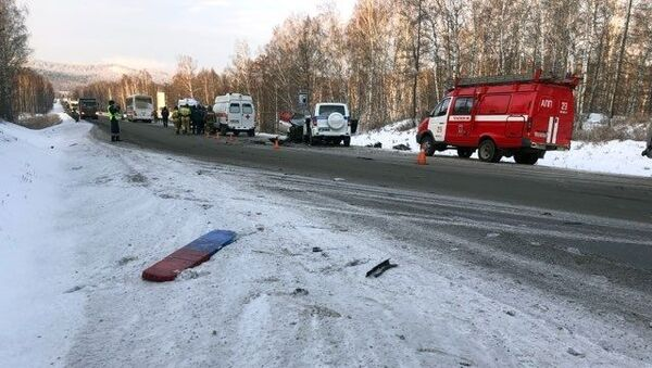 Несрећа у Русији - Sputnik Србија