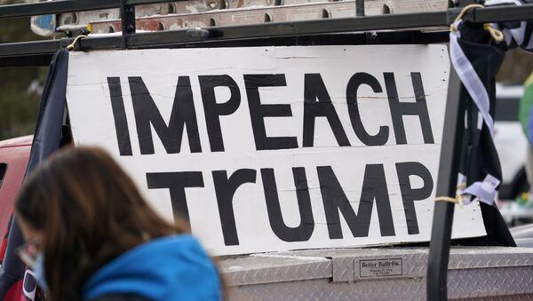 Протест за опозив Трампа - Sputnik Србија