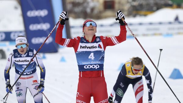Ruska skijašica Julija Stupak - Sputnik Srbija