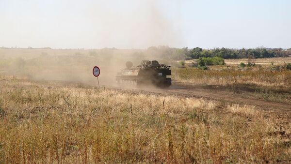 Ракетни систем Стрела 10 војске Доњецке Народне Републике на војним вежбама - Sputnik Србија