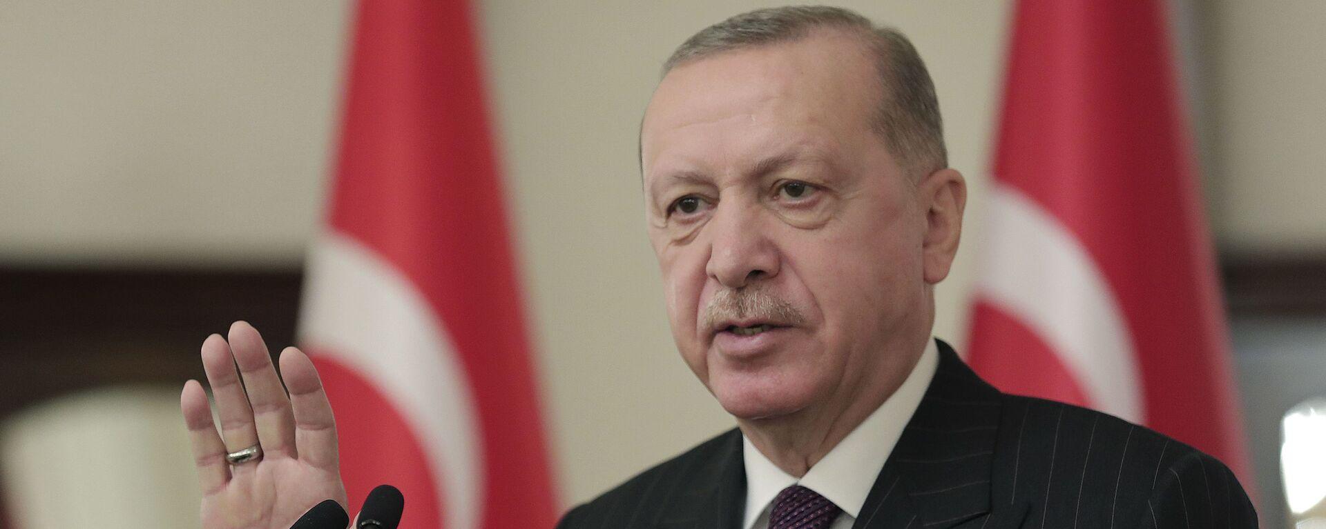 Predsednik Turske Redžep Tajip Erdogan - Sputnik Srbija, 1920, 23.08.2021