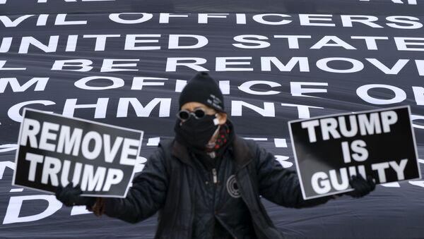 Protesti protiv američkog predsednika Donalda Trampa - Sputnik Srbija