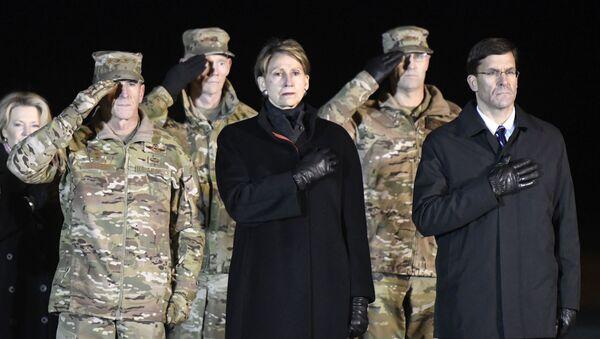 Sekretar vazduhoplovstva SAD Barbara Beret - Sputnik Srbija