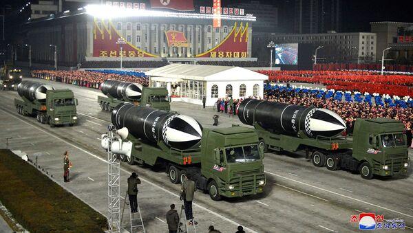 Војна парада у Северној Кореји - Sputnik Србија
