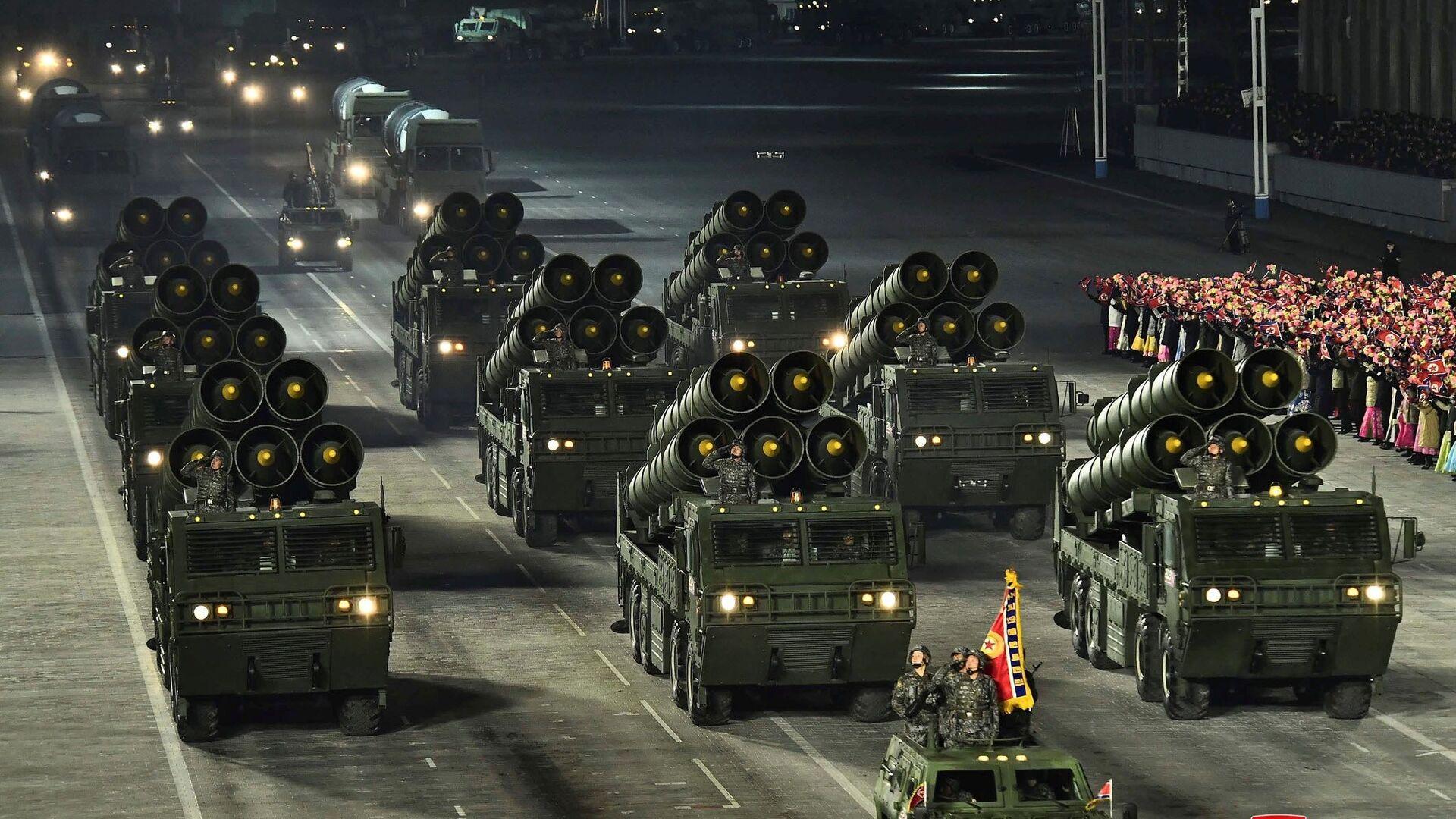 Vojna parada u Severnoj Koreji - Sputnik Srbija, 1920, 09.09.2021