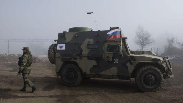 Припадници руских мировних снага у Нагорно-Карабаху - Sputnik Србија