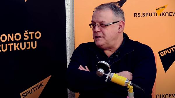 Nebojša Čović u emisiji Sputnjik sport: Miljanov korner - Sputnik Srbija