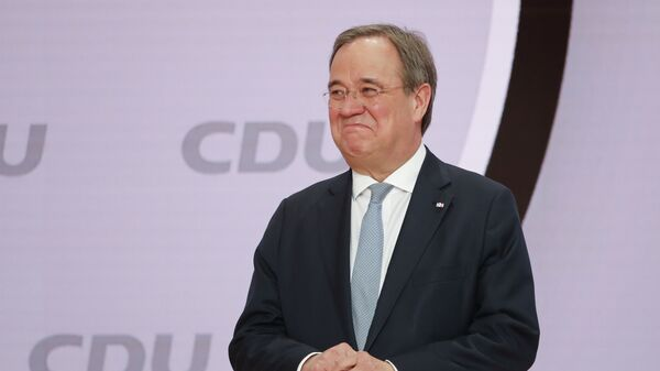 Нови лидер Хришћанско-демократске уније (ЦДУ) Армин Лашет  - Sputnik Србија