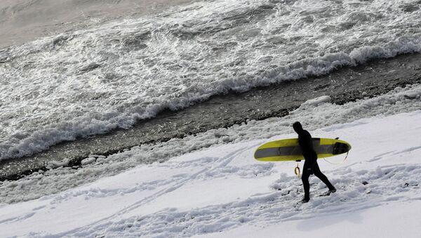 Zimski surfing - Sputnik Srbija