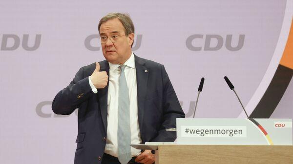 Armin Lašet, novi lider nemačke Hrišćansko-demokratske unije CDU - Sputnik Srbija