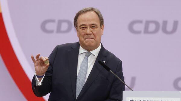 Армин Лашет, нови лидер немачке Хришћанско-демократске уније ЦДУ - Sputnik Србија