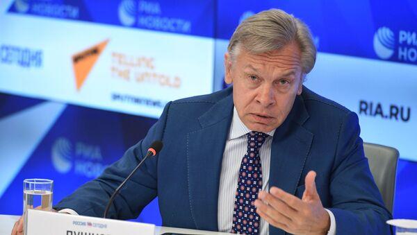 Сенатор Савета Федерације Русије Алексеј Пушков - Sputnik Србија