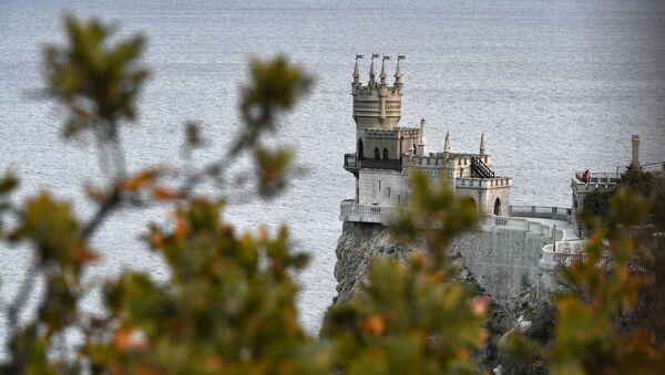 Zamak Lastino gnezdo na Krimu - Sputnik Srbija