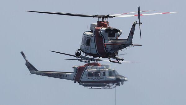 Turski spasilački helikopteri  - Sputnik Srbija