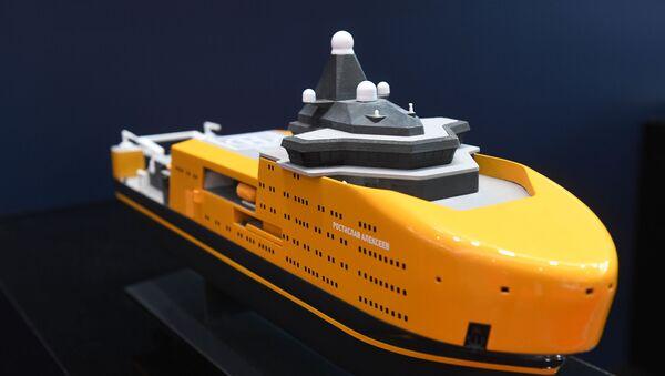 Međunarodna izložba pomorske odbrane u Sankt Peterburgu - Sputnik Srbija