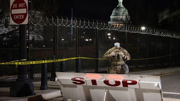 Вашингтон пред инаугурацију Џоа Бајдена - Sputnik Србија