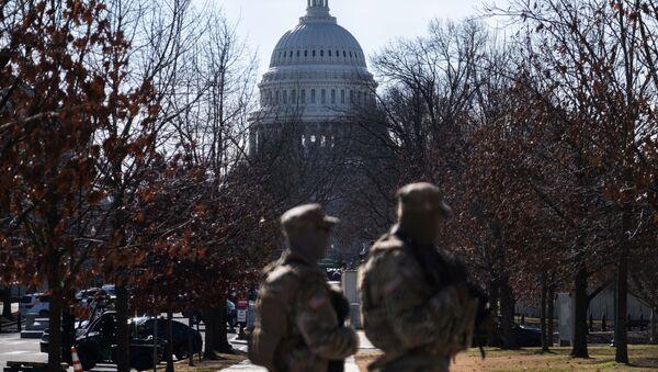 Ситуација у Вашингтону пред инаугурацију Џоа Бајдена - Sputnik Србија