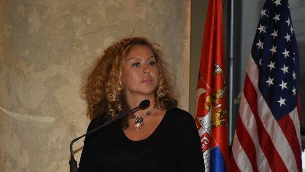 Олга Раваси, председница Српско - америчке гласачке алијансе. - Sputnik Србија