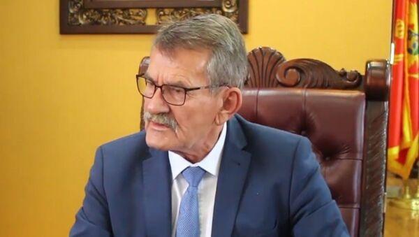 Љоро Нрекић, председник општине Улцињ - Sputnik Србија