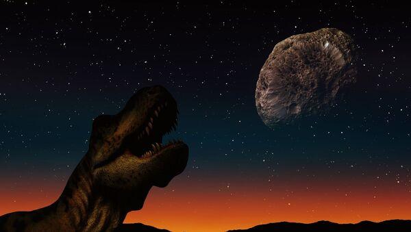 Диносаурус и астероид - Sputnik Србија