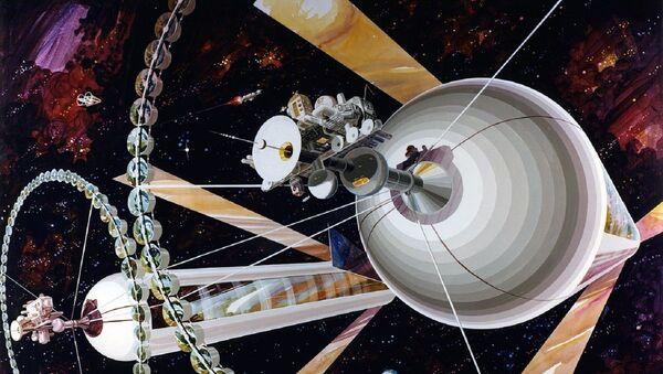Nastanjivi cilindri kao budućnost boravka u svemiru - Sputnik Srbija