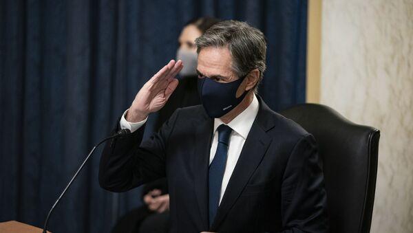 Kandidat za američkog državnog sekretara Entoni Blinken - Sputnik Srbija