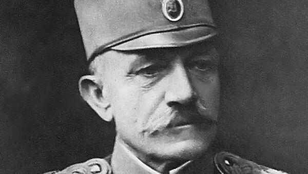 Za zasluge u pobedi srpske vojske u Kolubarskoj bici, Živojin Mišić je unapređen u čin vojvode 1914. godine - Sputnik Srbija