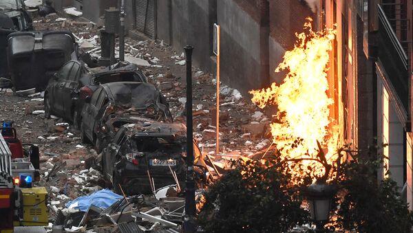Eksplozija u Madridu - Sputnik Srbija