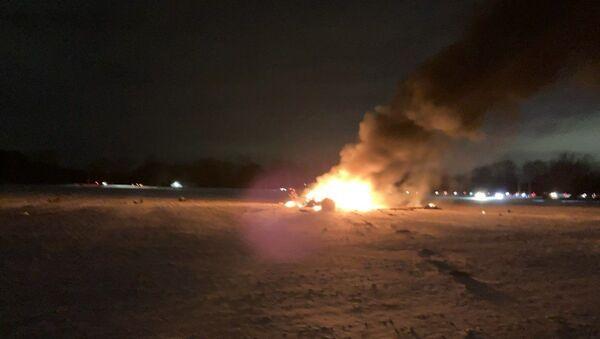Срушио се амерички војни хеликоптер у држави Њујорк - Sputnik Србија