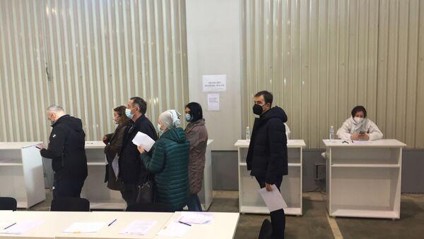 Vakcinacija na Beogradskom sajmu - Sputnik Srbija