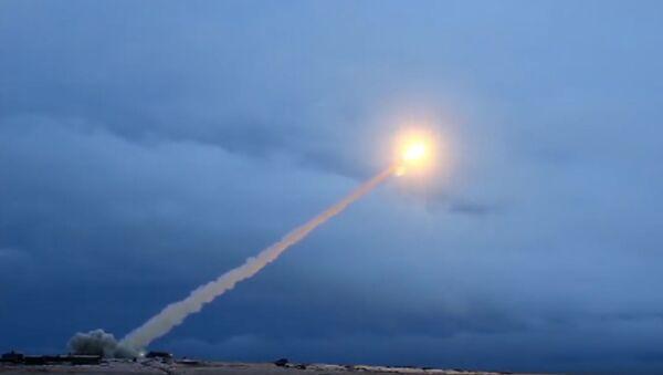 Raketna proba krstareće rakete Burevesnik - Sputnik Srbija
