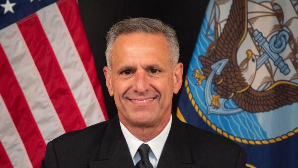 Admiral Robert Burk, komandant Združenih snaga NATO u Italiji - Sputnik Srbija