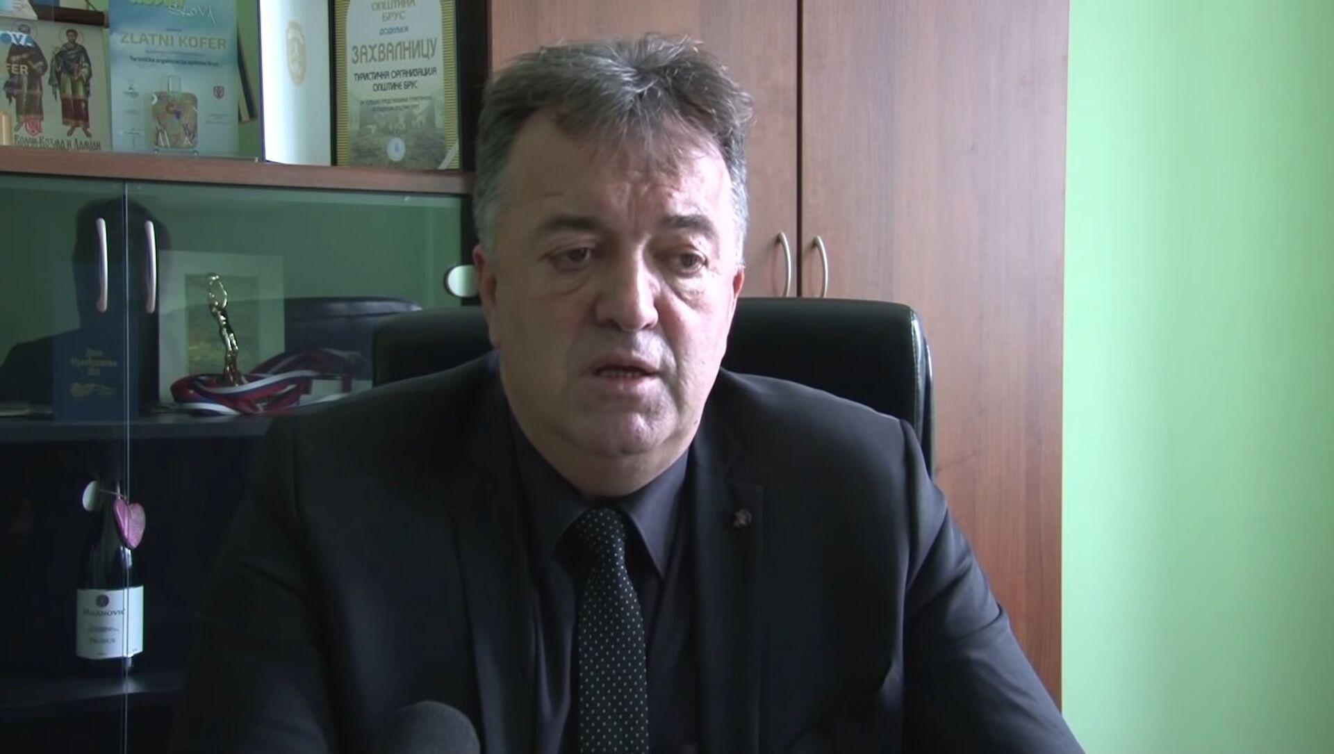 Милутин Јеличић Јутка, бивши председник општине Брус - Sputnik Србија, 1920, 27.04.2021
