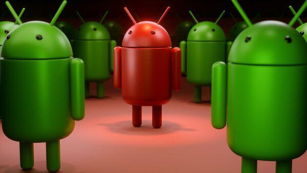 Android logotip - Sputnik Srbija