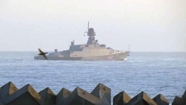 Ruska Crnomorska flota jača za još jedan mali raketni brod - Sputnik Srbija