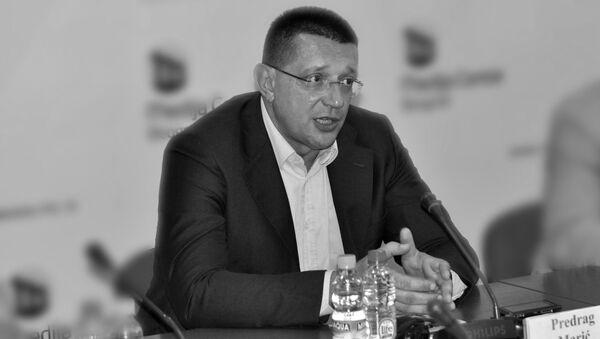 Помоћник министра и начелник Сектора за ванредне ситуације Предраг Марић - Sputnik Србија