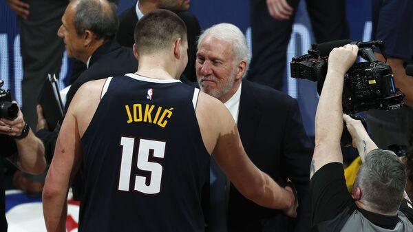 Nikola Jokić i Greg Popovič - Sputnik Srbija