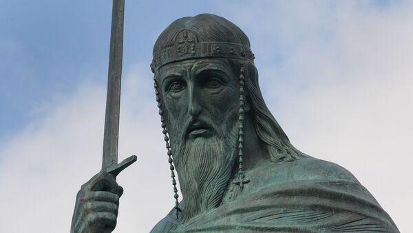 Споменик Стефану Немањи на Савском тргу - Sputnik Србија