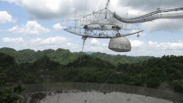 Opservatorija i radio teleskop Aresibo u Portoriku pre rušenja - Sputnik Srbija