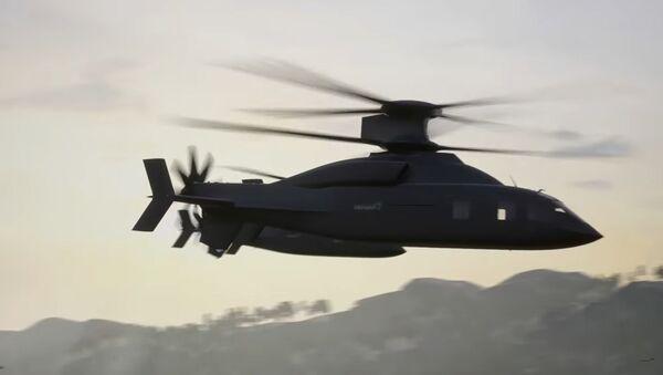 Дефајант икс, прототип новог америчког хеликоптера - Sputnik Србија