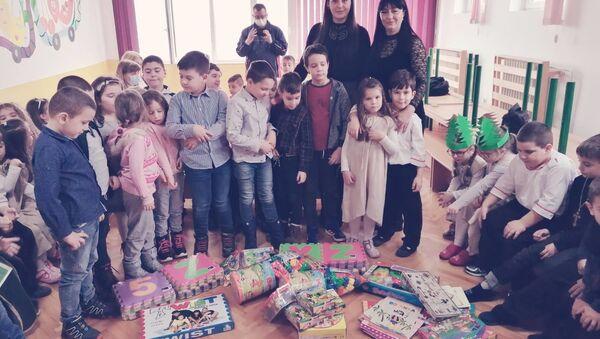 "Хуманитарна акција организације ""Српска нит"" - Sputnik Србија"