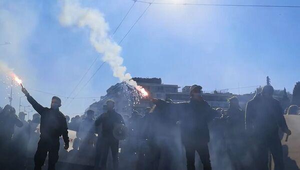 Protest studenata i profesora u Grčkoj - Sputnik Srbija