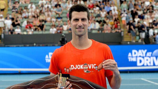 Srpski teniser Novak Đoković - Sputnik Srbija