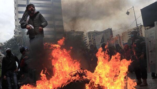 Протест у Триполију - Sputnik Србија